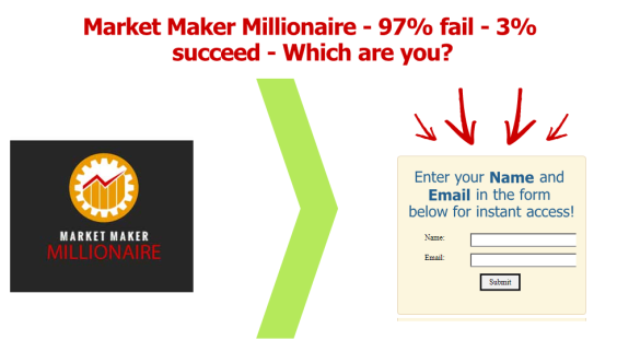 Market Maker Millionaire First Form